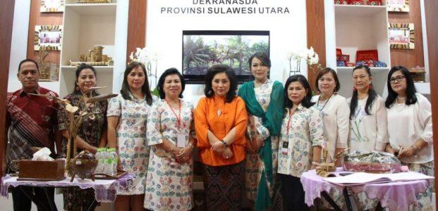 Dekranasda Sulut Unggulkan Kerajinan Kain Batik di Pameran Kriyanusa